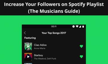 Increase Your Followers On Spotify Playlist (The Musicians Guide)
