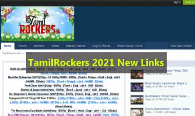 TamilRockers 2021 Link - Latest TamilRockers Website To Download Movies
