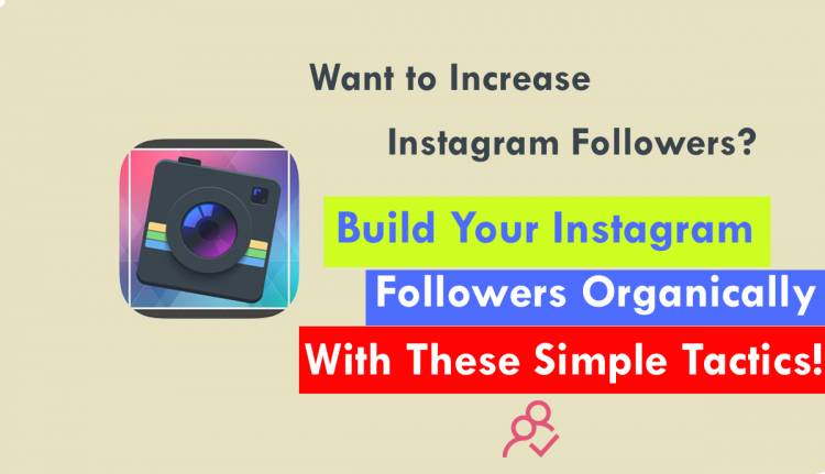 Want to Increase Instagram Followers? Here are a few Simple Tactics to Grow Your Instagram Followers Fast.
