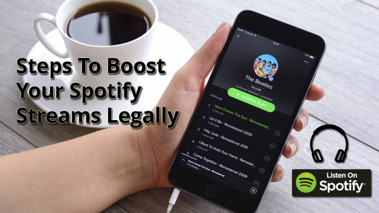 Spotify Plays: 8 Steps To Boost Your Spotify Streams Legally